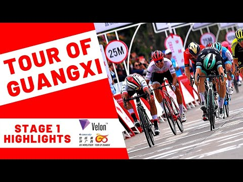 Tour of Guangxi 2019: Stage 1 Highlights