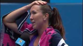 Australian Open: Classic Jelena Jankovic funny interview - 2014 Australian Open