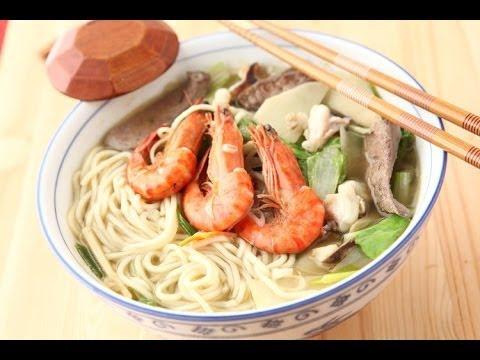 阿基師食譜教你做什錦海鮮湯麵食譜 | FunnyCat.TV