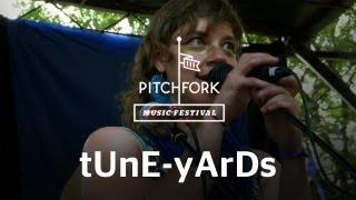 tune yards   bizzness   pitchfork music festival 2011
