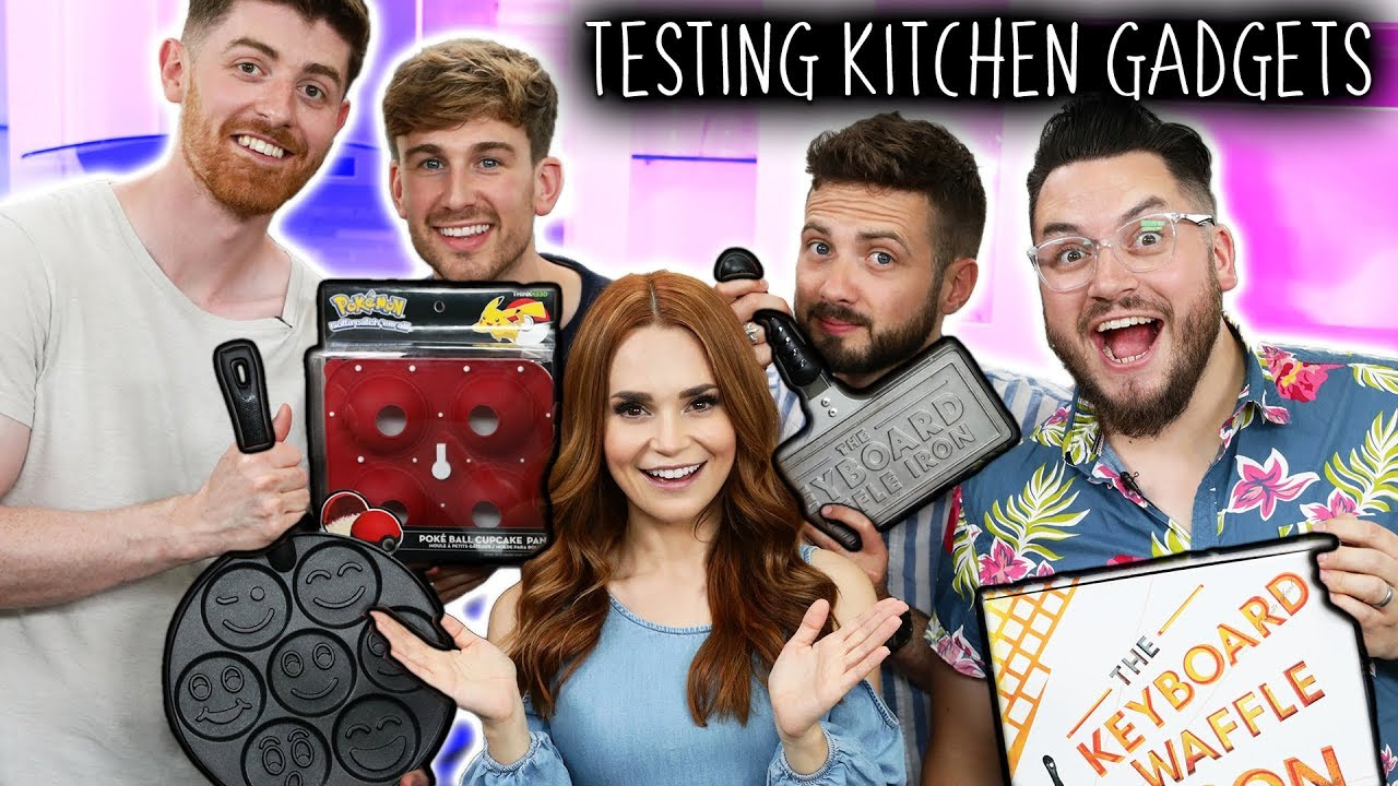 TESTING 3 GEEKY KITCHEN GADGETS... Are They Worth It? ft SORTEDfood