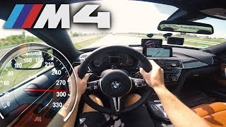 2018 BMW M4 Competition (0-295km/h) POV- TOP SPEED, Acceleration TEST✔