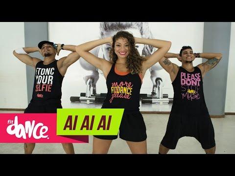 Harmonia do Samba - Ai Ai Ai - FitDance   Coreografia