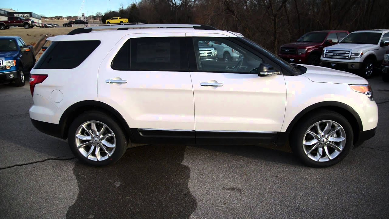 White Ford Explorer >> Patriotford Presents 2014 Ford Explorer Xlt White Platinum In Purcell Ok Near Oklahoma City