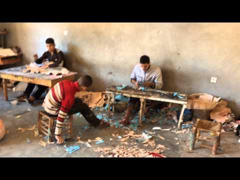 atelier de moroccan pouffe