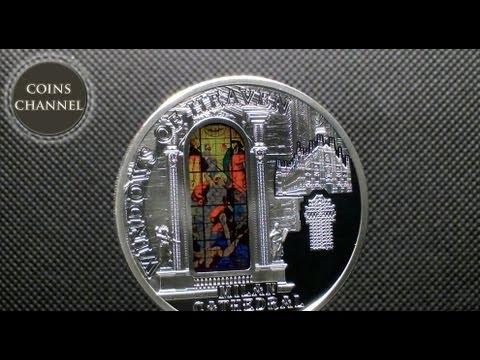 $10 Silver Coin Cook Islands 2013  - Windows of Heaven Milan