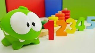 Видео для детей. Игры Ам Ням. Учим цвета и считать. Развивающее видео.