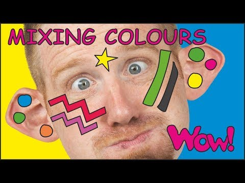 Mixing Colours with Steve and Maggie NEW | Story for Kids | English Speaking with Wow English TV