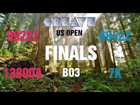 CREATE U.S. Open Robotics Championship VRC-HS Finals | 9922Z 13800A Vs 6842Z 7K