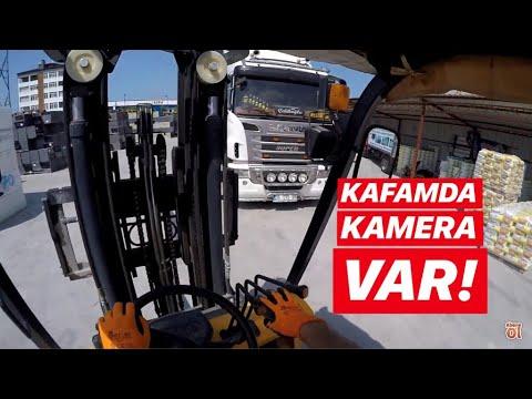 Kafamda Kamera Var ! / Forklift Kullandım !