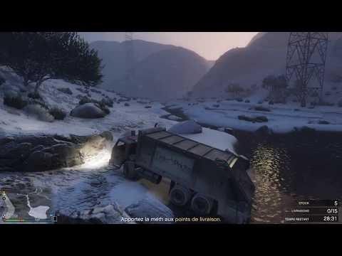 GTA V: Online-Gros Coup De Bol Pendant Une Livraison