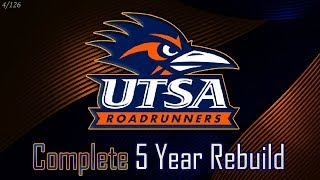 1-Star to Rank #2 | UTSA 5-Year Rebuild | NCAA Football 14 (4/126)