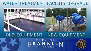 Franklin Insider: Upgraded Water Treatment Facility