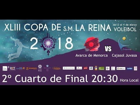 2º Cuarto De Final  Avarca De Menorca - Cajasol Juvasa