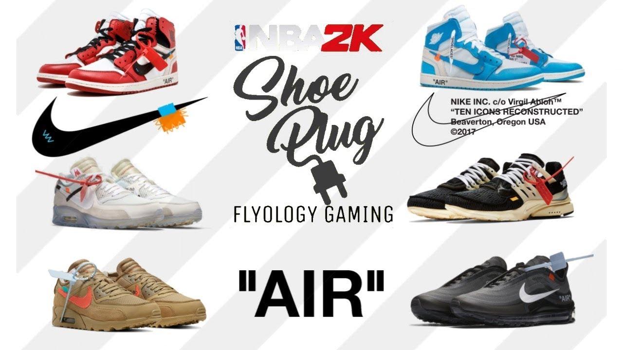 d898080cc02 👑👟🔌 NBA 2K19 HYPEBEAST OFF-WHITE shoe creator