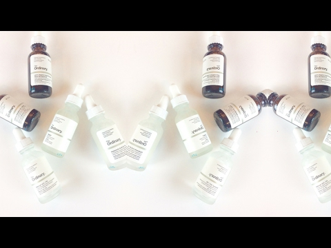 THE ORDINARY SKINCARE! Affordable and Effective Skincare!