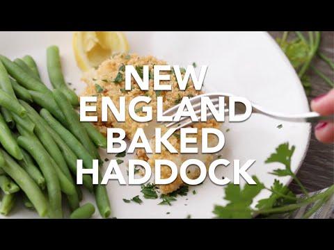 New England Baked Haddock