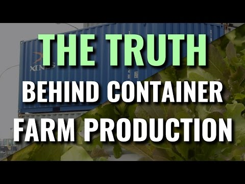 The Truth Behind Container Farm Yields - YouTube