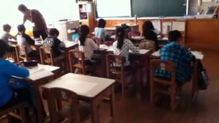 Японская школа. День открытых дверей