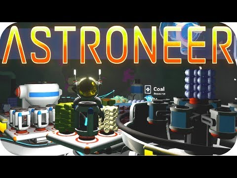 Astroneer Gameplay: SURVIVING AT THE CORE!! ▶RESEARCH 2.1 UPDATE◀ Let's Play Astroneer Alpha v0.5.0