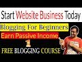 How to Make a Free Blog Website | Earn Money With Blogging Tutorial Step By Step Part -1