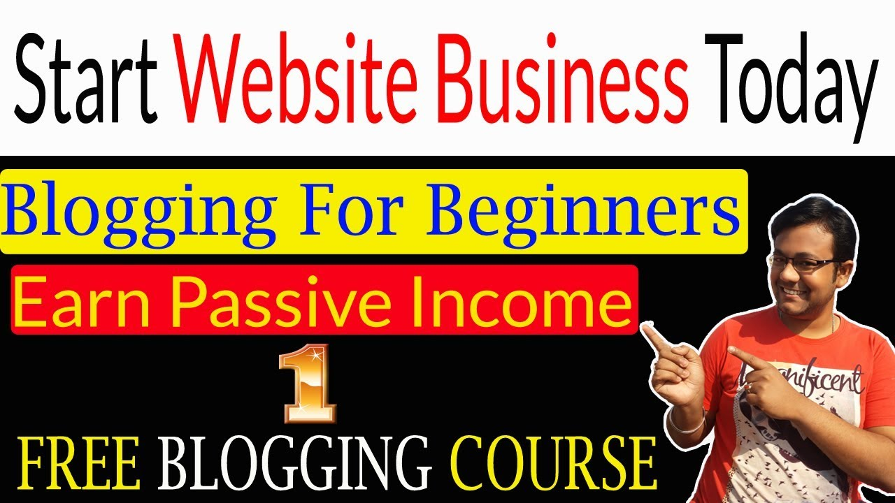 How To Make A Free Blog Website  Earn Money With Blogging