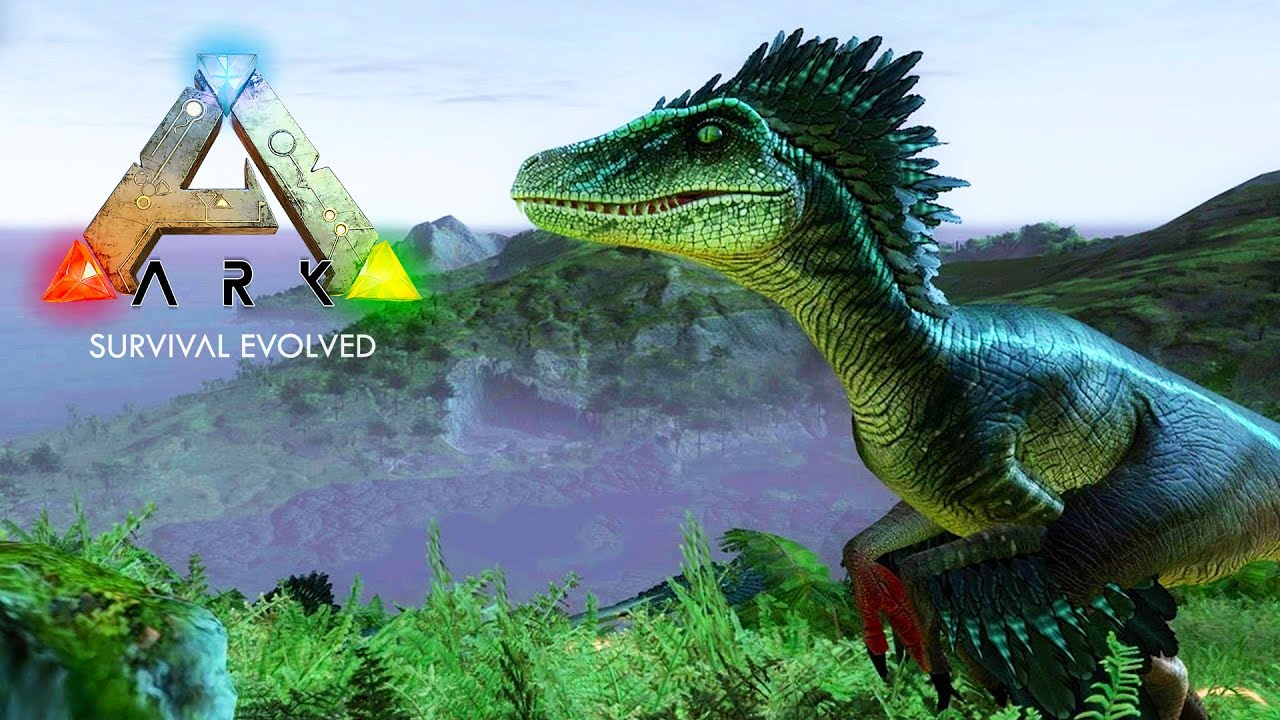 Ark Survival Evolved Backgrounds: HUNTING & TAMING RAPTORS! (ARK