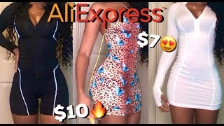 AliExpress Try-On Haul | Baddie on a Budget