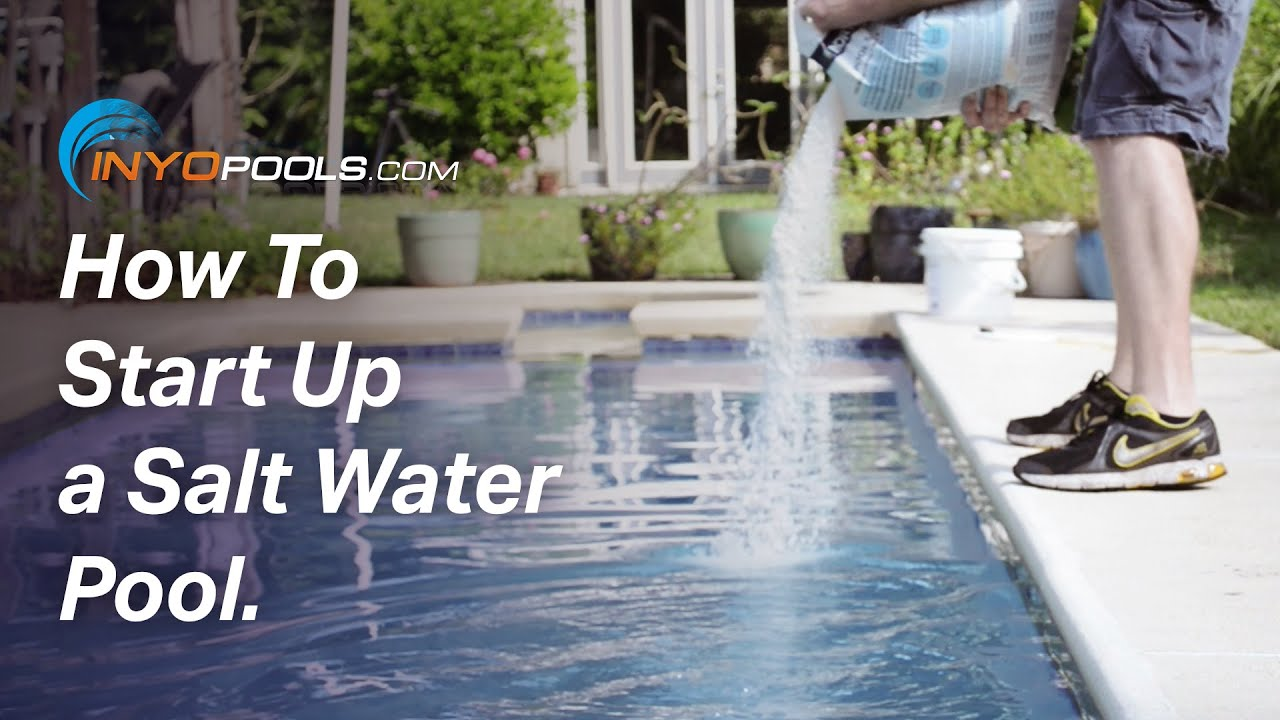 Jacuzzi Pool Chlorinator How To Start Up A Salt Water Pool