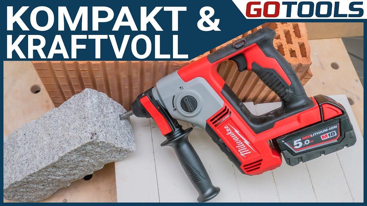 Milwaukee Akku-Bohrhammer M18BH-0 SDS-Plus Solo ohne Akku ohne Lader im Karton