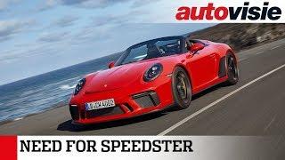 Porsche 911 Speedster (2019) - Test - Autovisie TV