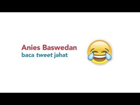 Anies Baswedan baca tweet jahat #14