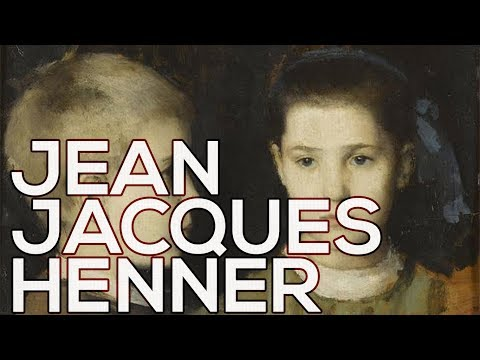 Jean Jacques Henner: A collection of 69 paintings HD