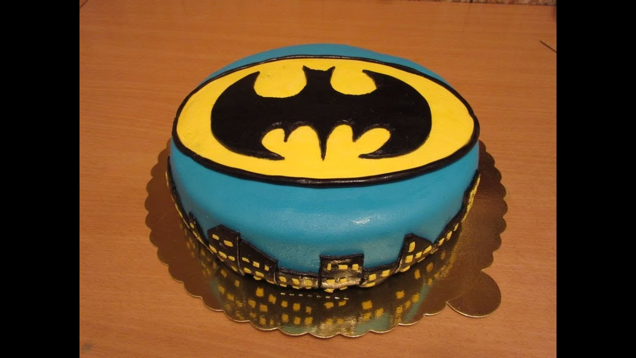 Batman Torta Od Fondana Youtube