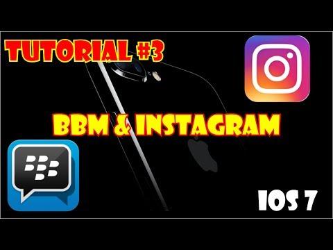 [TUTORIAL] #3 BBM & Instagram to iOS 7 | not jailbrake