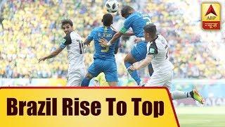 Brazil rise to top, Switzerland