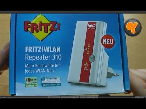 unboxing/first look: fritz! wlan repeater 310 (wifi verstärker