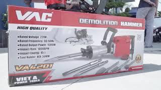 Máy đục bê tông VAC 30mm - VA4201