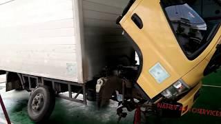 Service Dan Over Houle System Rem Pada Mitsubishi Truck Colt Diesel...