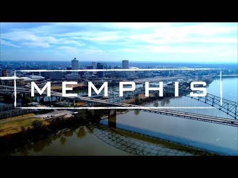Memphis, Tennessee   4K Drone Footage