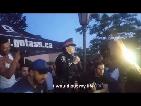 YRP Cop Rap Battle at Stada June 9th 2017 (with Lyrics)