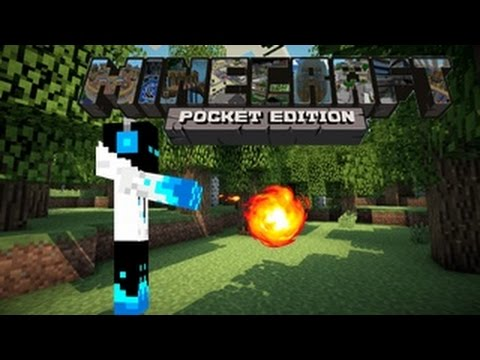 Minecraft Pe | Elle Ateş Topu Fırlatma (Modsuz)