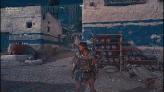 Assassin's Creed® Odyssey #11 - Jaskinia Aggalaki, tartak, ostrakon jezioro bez dna