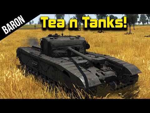 NEW British Tanks, War Thunder British Tanks Gameplay 1.53