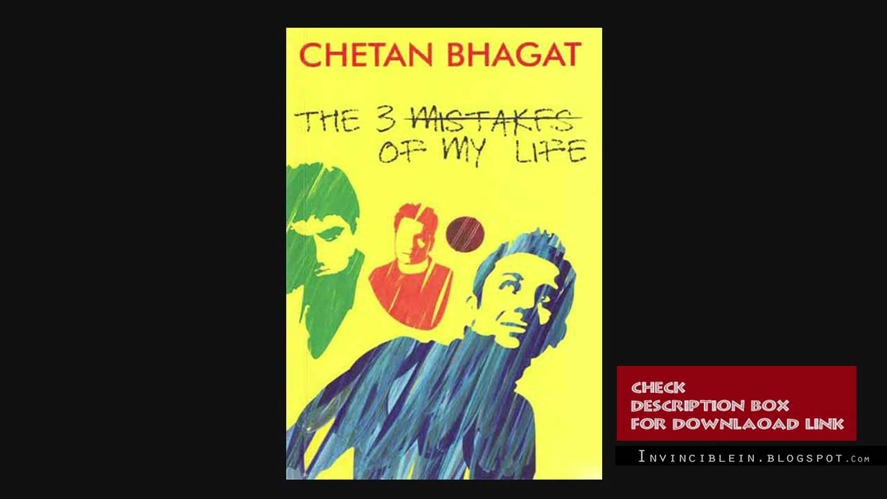 Chetan Bhagat 3 Mistakes Of My Life Ebook