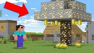 Minecraft NOOB vs PRO: NOOB FINDS SECRET GOLD TREE! 100% trolling