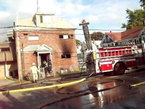 HOUSE FIRE - 1354 Gorham St.- Lowell Massachusetts