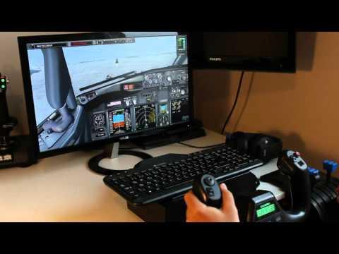Saitek Yoke View PMDG 737 NGX Van Non Precision Landing