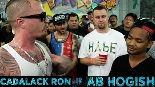 BOTZ2 - Rap Battle - Cadalack Ron vs AB Hogish