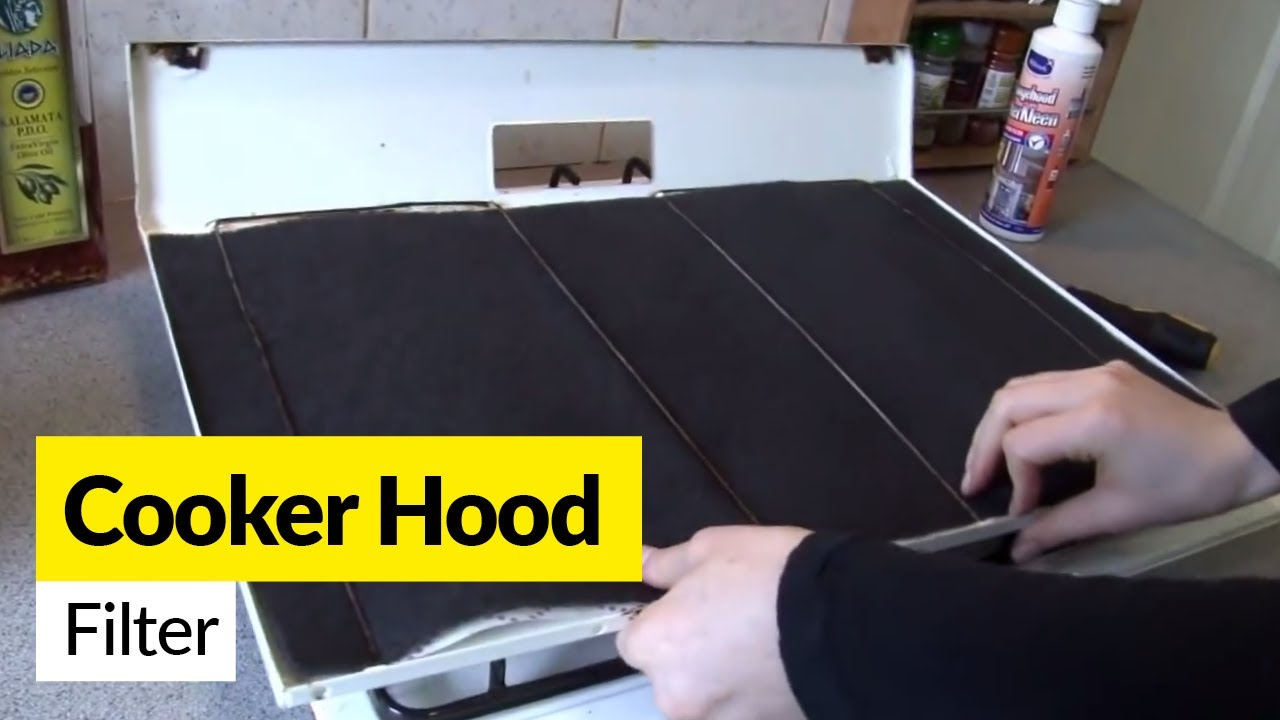 cooker hood filters and maintenance